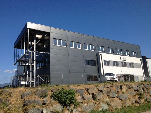 ASCO Anlagenbau Bürozubau
