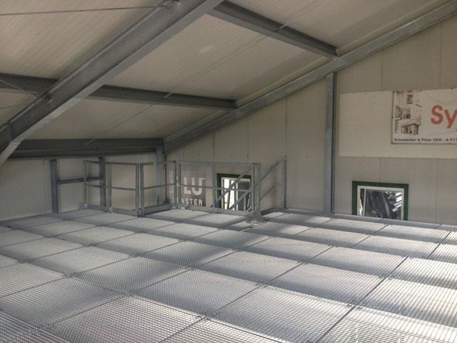Schmautzer Tür-Tortechnik Hallenzubau