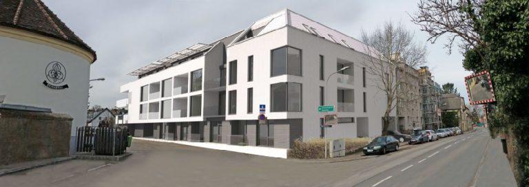Projektstudie Wohnanlage Klosterneuburg