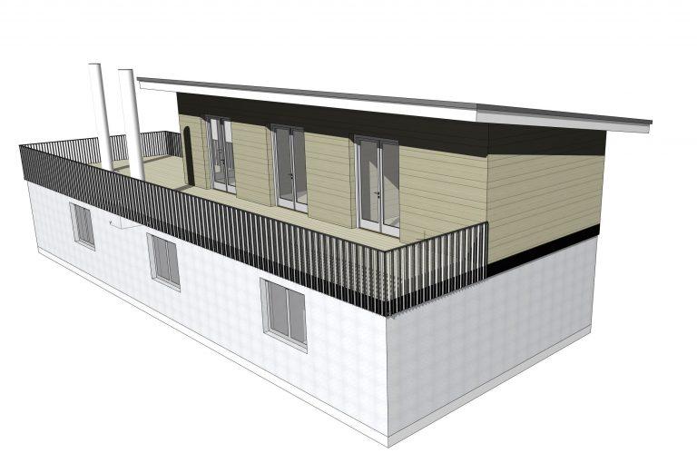 Wohnhaus Umbau Studie St. Andrä
