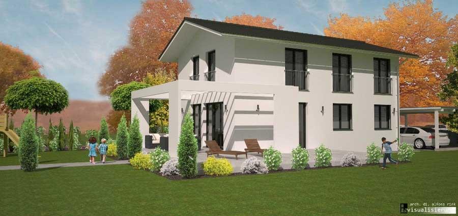 Architekten Design-Haus CUBE Family