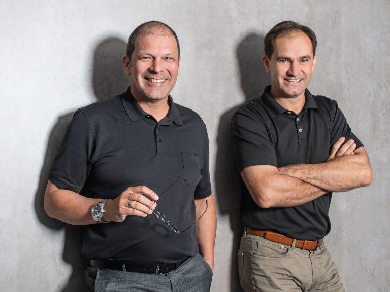 CUBE/CEO Christian Eberhardt & Architekt DI Alfons RINK
